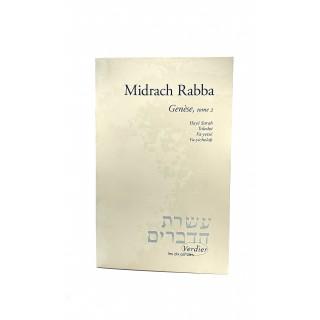 MIDRACH RABBA, GENESE, TOME 2