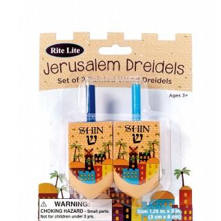 TOUPIES BOIS JERUSALEM