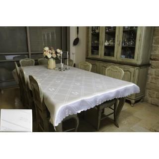NAPPE TABLE DE CHABBAT - 280cm